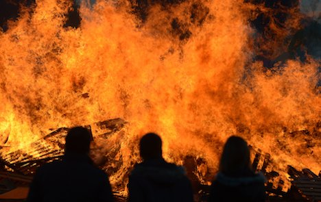 Woman burned father in Easter bonfire
