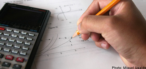 Professor reported for grading son's exam twice