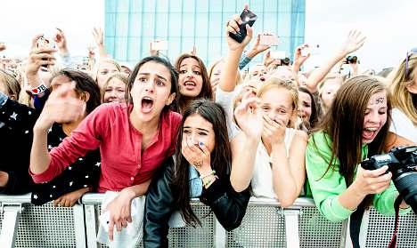 Dozens injured at Oslo Bieber show