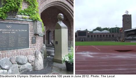 Stockholm's Olympic Stadium turns 100 years