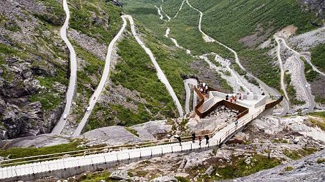 Norway puts trolls' path on national tourist trail