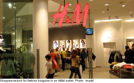 H&M sees profits boom on strong spring sales