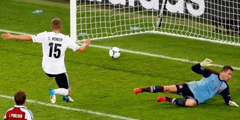 Germany beat Denmark to reach Euro quarters