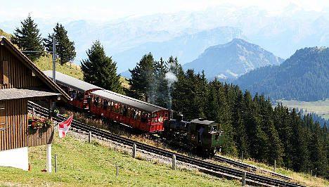 Swiss railway seeks Chinese boulder swap