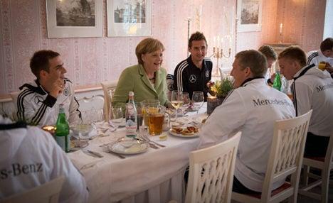 Merkel will see Germany take on Greece