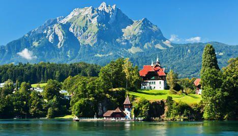 Jittery Germans splurge on pricey Swiss homes