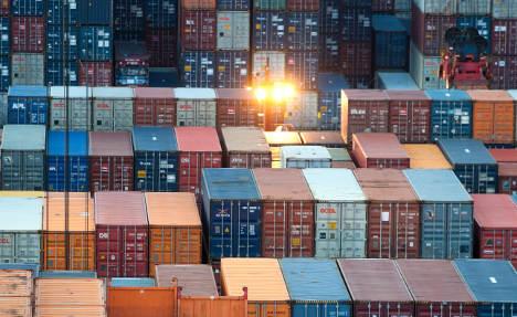 Trade surplus drops as eurozone crisis bites