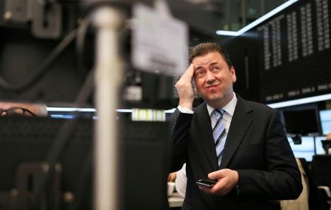 Euro crisis hits DAX index hard