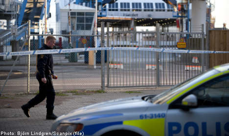 Armed thieves in dramatic ferry robbery