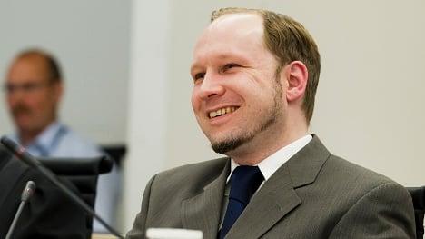 Breivik posed 'to lighten the mood' after massacre