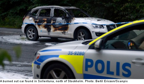 Mystery car fires wreak havoc near Stockholm