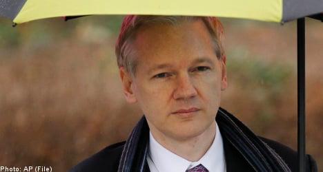 Assange slams Sweden after asylum bid