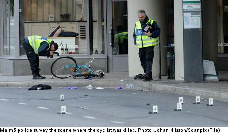 Gang member held after Malmö hit-and-run drama