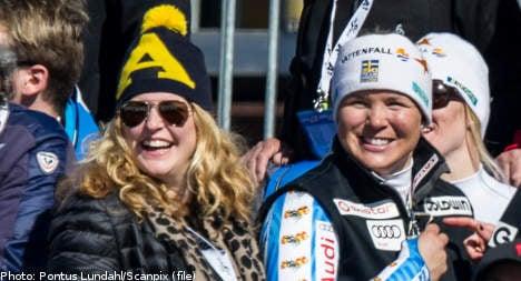 Anja Pärson: I'm gay and I'm going to be a mum