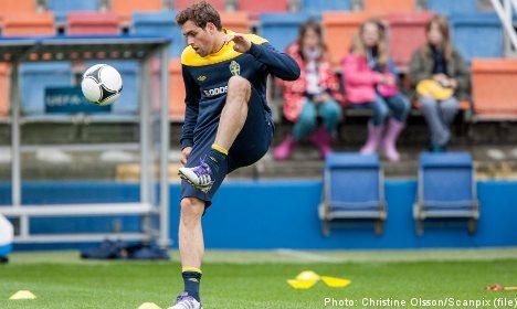Elmander fitness boosts Swedish Euro hopes