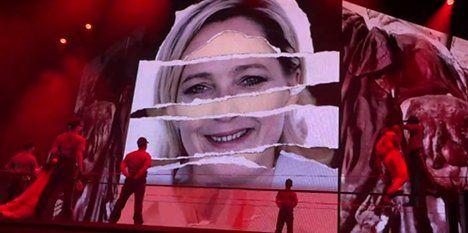 Le Pen: 'I'll sue Madonna over Nazi video'