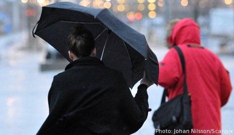 Stockholm warned for extreme weekend rains
