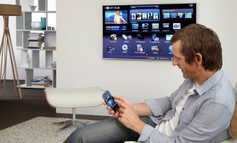 Half of new German televisions are online