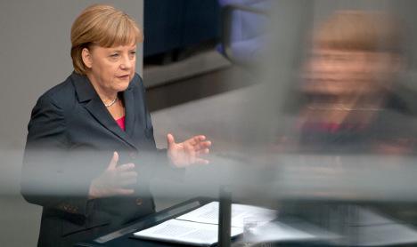 Merkel: limits to German economic strength