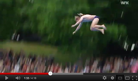 Divers defy death at Oslo world championships