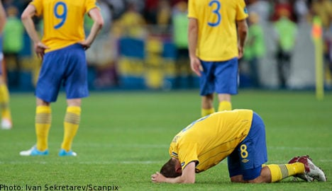 Sweden out of Euros after England victory