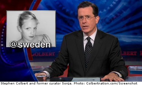 Sweden says no to Colbert Twitter takeover