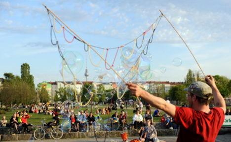 Berlin Wall park entrance fee mulled for rubbish