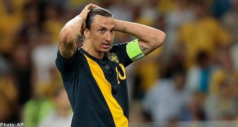 Sweden loses to Ukraine in Euro 2012 opener