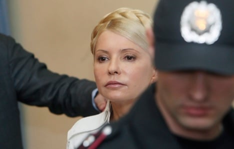 Ukraine: blame Germany for Tymoshenko jail term