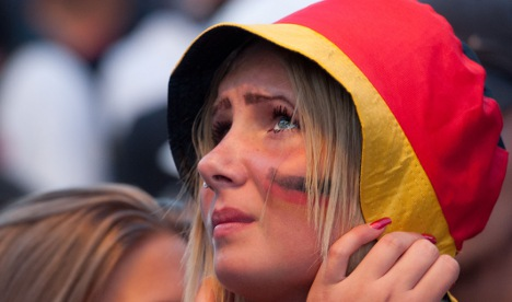 UEFA 'faked' tears for German team