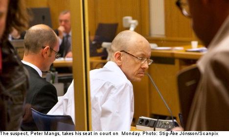 Mangs said he 'shot the monkey': witness