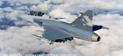 Sweden to lend Gripen fighters to Switzerland