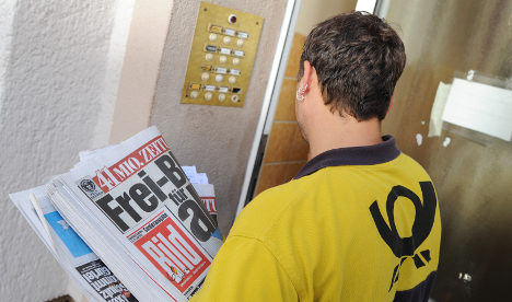 Anti-<i>Bild</i> campaign mars paper's birthday stunt