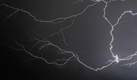 Three killed by lightning strike