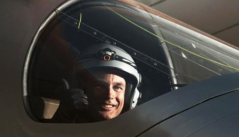 Adventure runs in the family for solar plane pilot Piccard