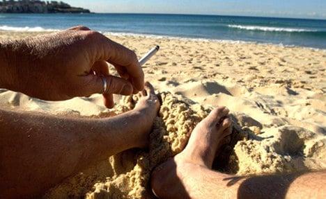 Baltic beaches declared no smoking zones