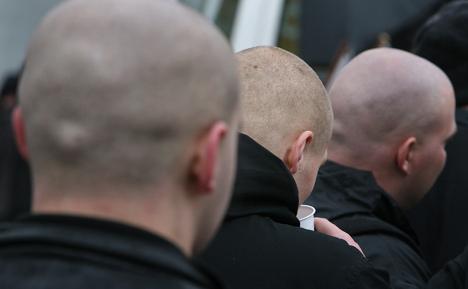 Four held as cops target fascist web masters