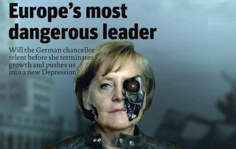UK magazine: Merkel 'most dangerous leader'