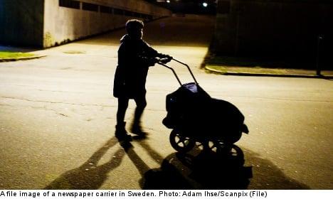 Stockholm newspaper carrier guilty of rape