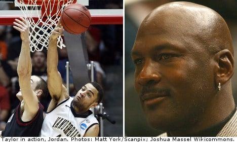 Swede drafted by Michael Jordan's NBA team