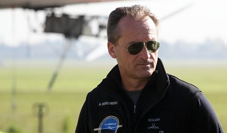 Headwinds force Swiss pilot to abort solar flight