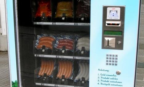Butcher unveils sausage vending machine
