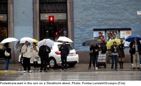 Stockholm set for rainiest June on record