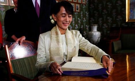Nobel prize 'opened up a door in my heart'