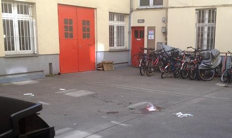 Man 'kills flatmate and jumps from window'
