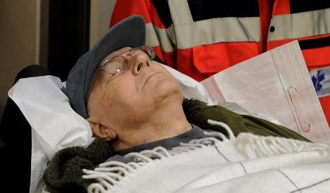 Nazi camp guard's son: 'docs killed my dad'