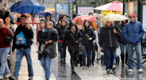 Heavy rains to sweep Sweden