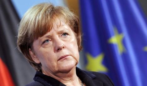 Merkel: No eurobonds 'as long as I live'