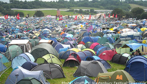 17-year-old girl raped at music festival
