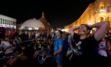 Germany fined for firework-flinging fans